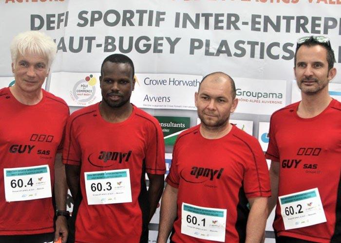 Défi sportif inter-entreprises - Apnyl